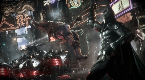 Batman: Arkham Knight screens