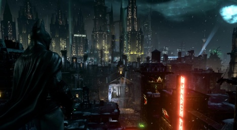Batman is back at Arkham