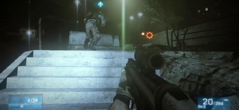 Battlefield 3: Xbox 360 Gameplay