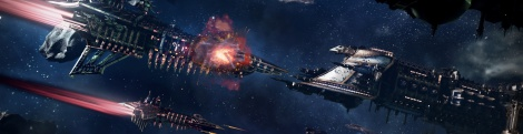 Battlefleet Gothic: Armada screens