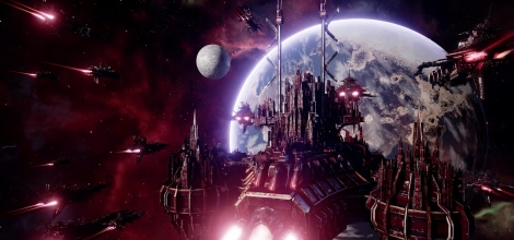 Battlefleet Gothic: Armada shows Chaos fleet