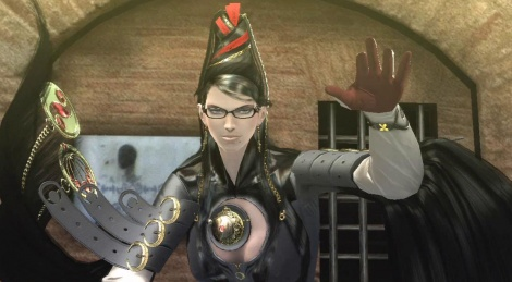 Bayonetta 60 fps gameplay