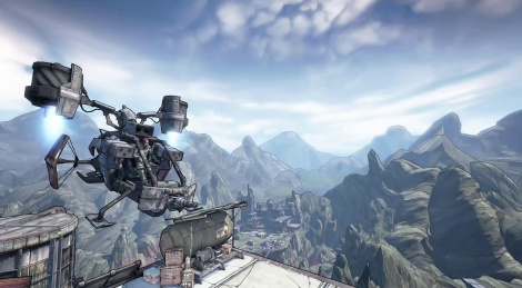 Borderlands 2 introduces itself