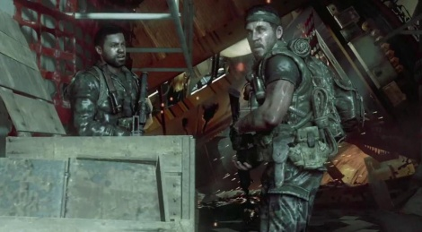 Call of Duty Black Ops launch trailer. As usual with Activision,