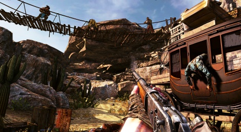 Call of Juarez Gunslinger trailer