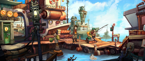 Chaos on Deponia arrives on consoles in Dec.
