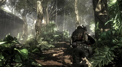 COD Ghosts launches itself