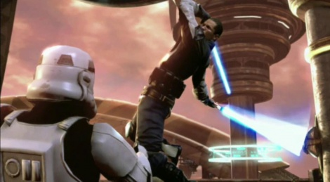 Combat in SW The Force Unleashed 2