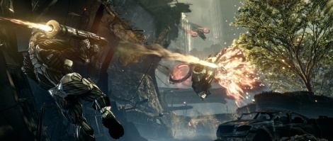 Crysis 2: Single-player screens