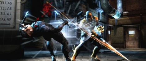 Deathstroke brought to Injustice
