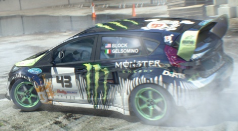 DiRT 3 is still a bit shy