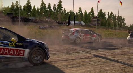 DiRT 4 showcases Rallycross