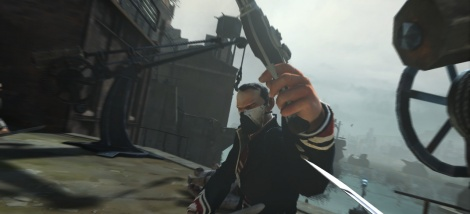 Dishonored first screen