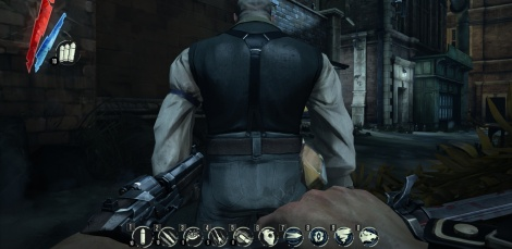 Dishonored shows its UI options
