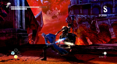 DmC: Vergil's Bloody Palace Gameplay