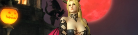 DOA5 Ultimate celebrates Halloween