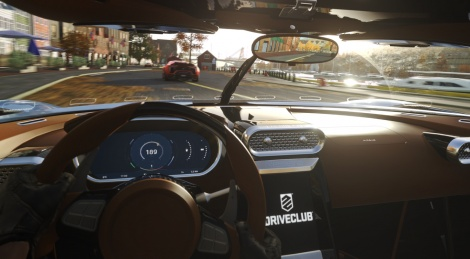 DriveClub VR revealed with screens