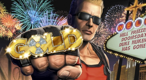 Duke Nukem Forever is finally gold