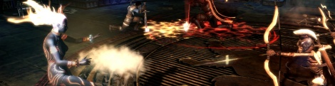 Dungeon Siege 3: co-op screens