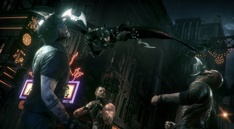 E3: Batman Arkham Knight screens
