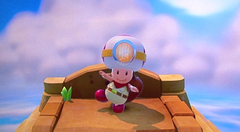 E3: Captain Toad gameplay