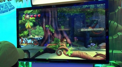 E3: DK: Tropical Freeze gameplay