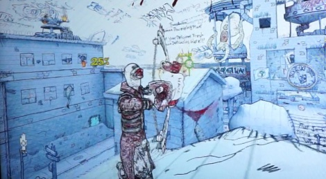 E3: Drawn to Death gameplay video