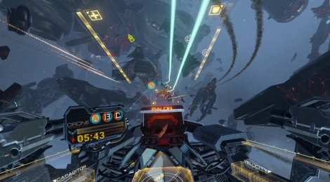E3: EVE Valkyrie direct feed video