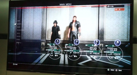 E3: Final Fantasy XV gameplay