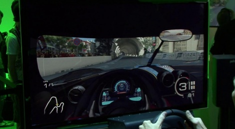 E3: Forza 5 wheel gameplay