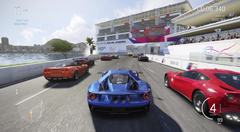 E3: Forza 6 direct feed 60 fps video