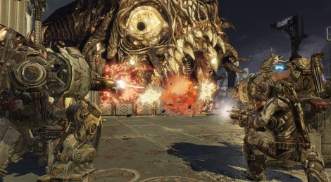 E3: Gears of War 3 screenshots