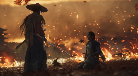 E3: Ghost of Tsushima shows itself