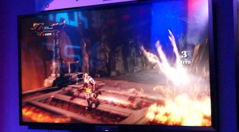 E3: God of War 3 HD gameplay