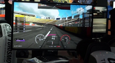 E3: Gran Turismo Sport showfloor video