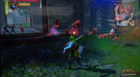 E3: Hyrule Warriors gameplay