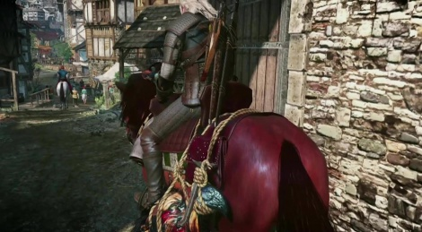 E3: LQ gameplay of The Witcher 3