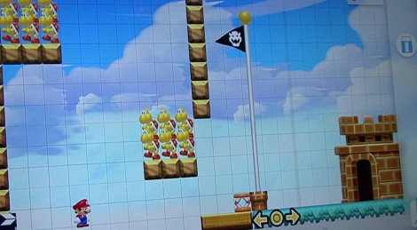 E3: Mario Maker gameplay