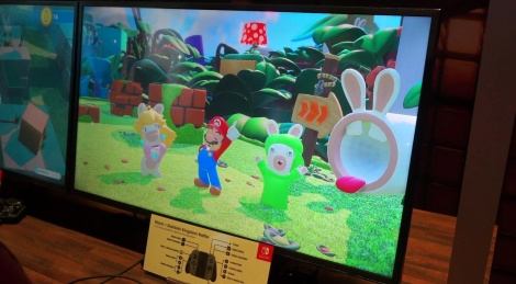 E3: Mario + Rabbids gameplay