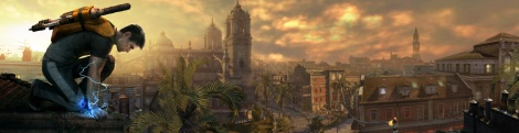 E3: New images of InFamous 2