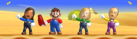 E3: New Super Mario Mii revealed
