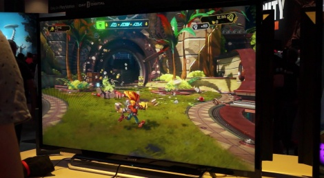 E3: Ratchet & Clank gameplay