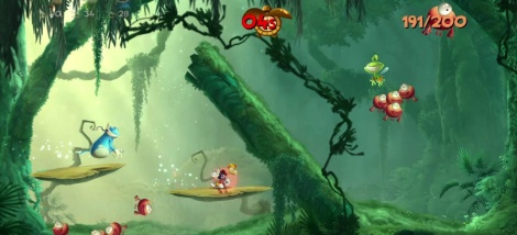 E3: Rayman Legends gameplay