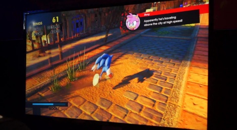 E3: Sonic Forces gameplay