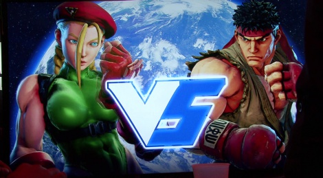 E3: Street Fighter V show floor video