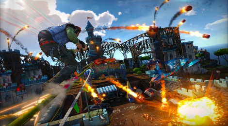 E3: Sunset Overdrive new screens