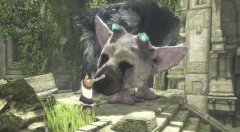 E3: The Last Guardian gameplay