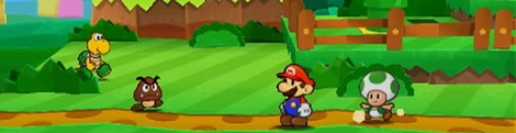 E3: Trailer & Screens of Paper Mario 3DS