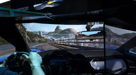 E3: Triple screen Forza 6 videos