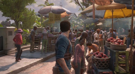 E3: Uncharted 4 gameplay video